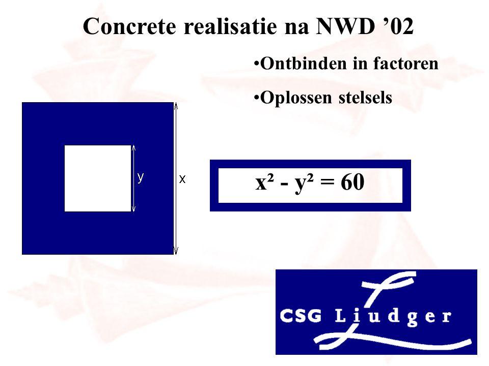 Concrete realisatie na NWD '02