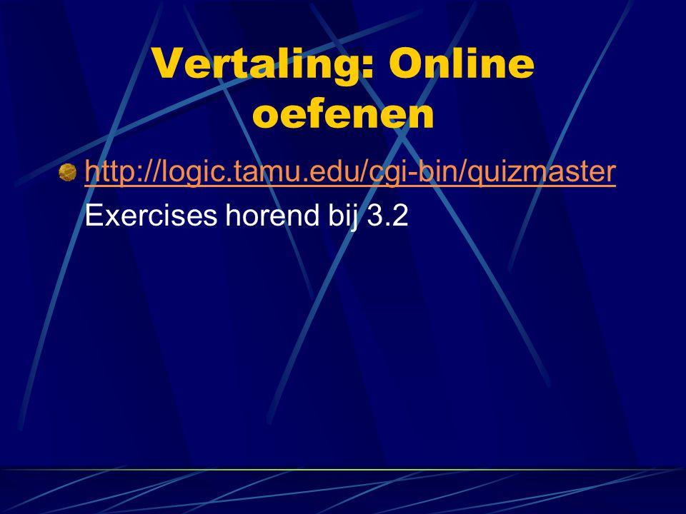 Vertaling: Online oefenen