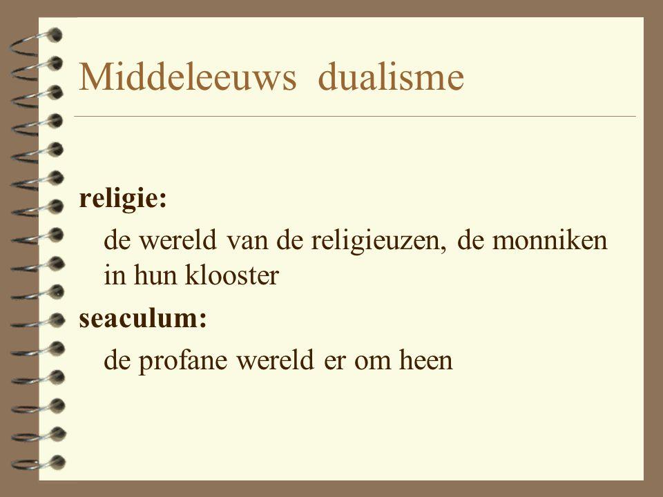 Middeleeuws dualisme religie:
