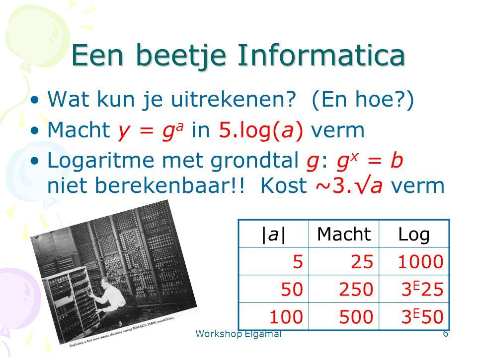 Een beetje Informatica