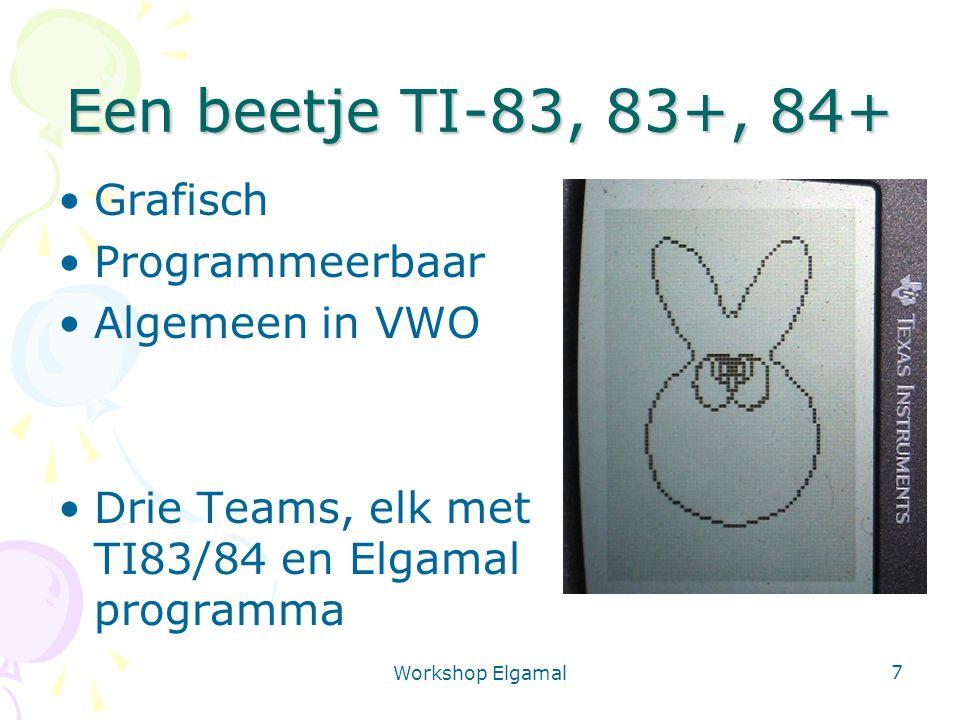 Een beetje TI-83, 83+, 84+ Grafisch Programmeerbaar Algemeen in VWO