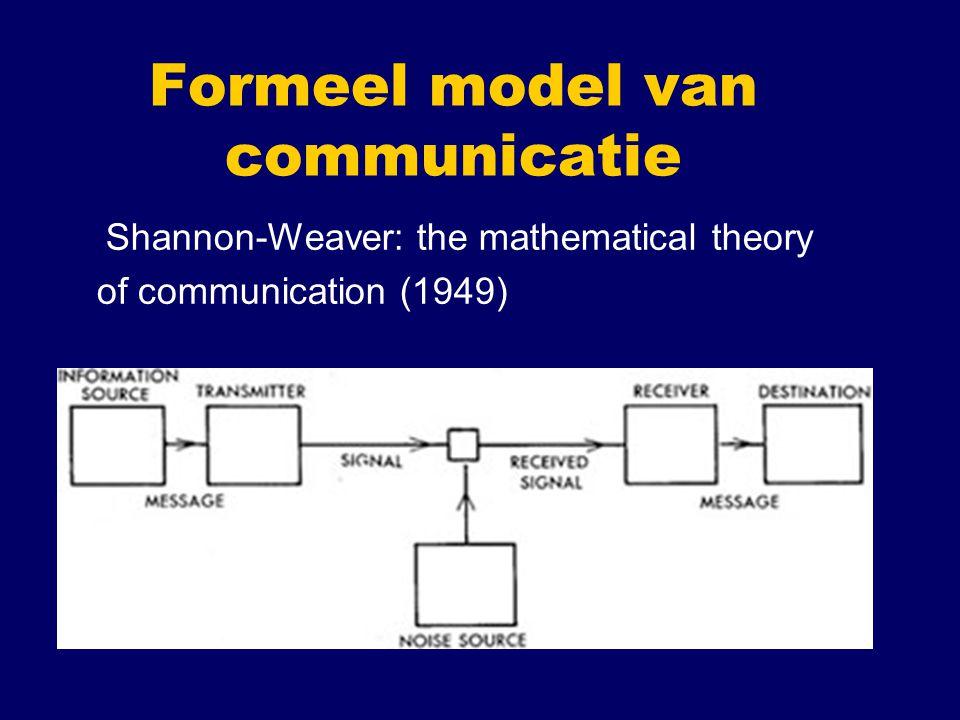 Formeel model van communicatie
