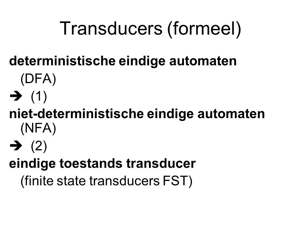 Transducers (formeel)
