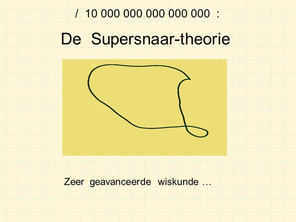 De Supersnaar-theorie