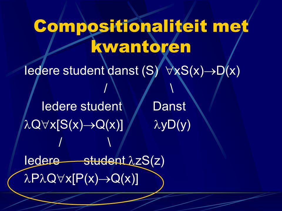 Compositionaliteit met kwantoren