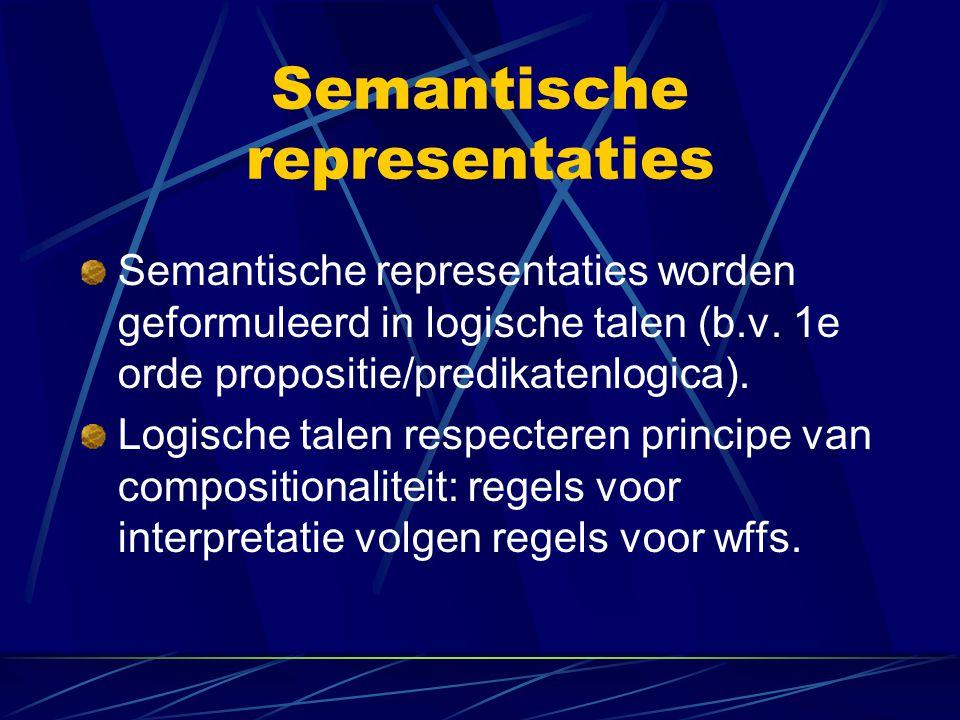Semantische representaties