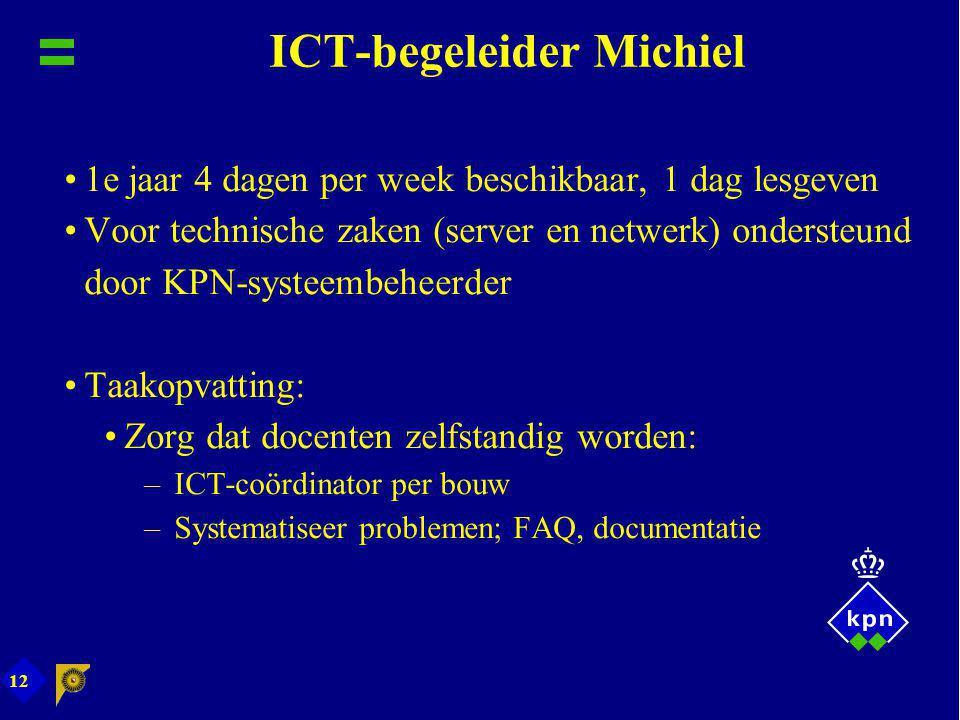 ICT-begeleider Michiel