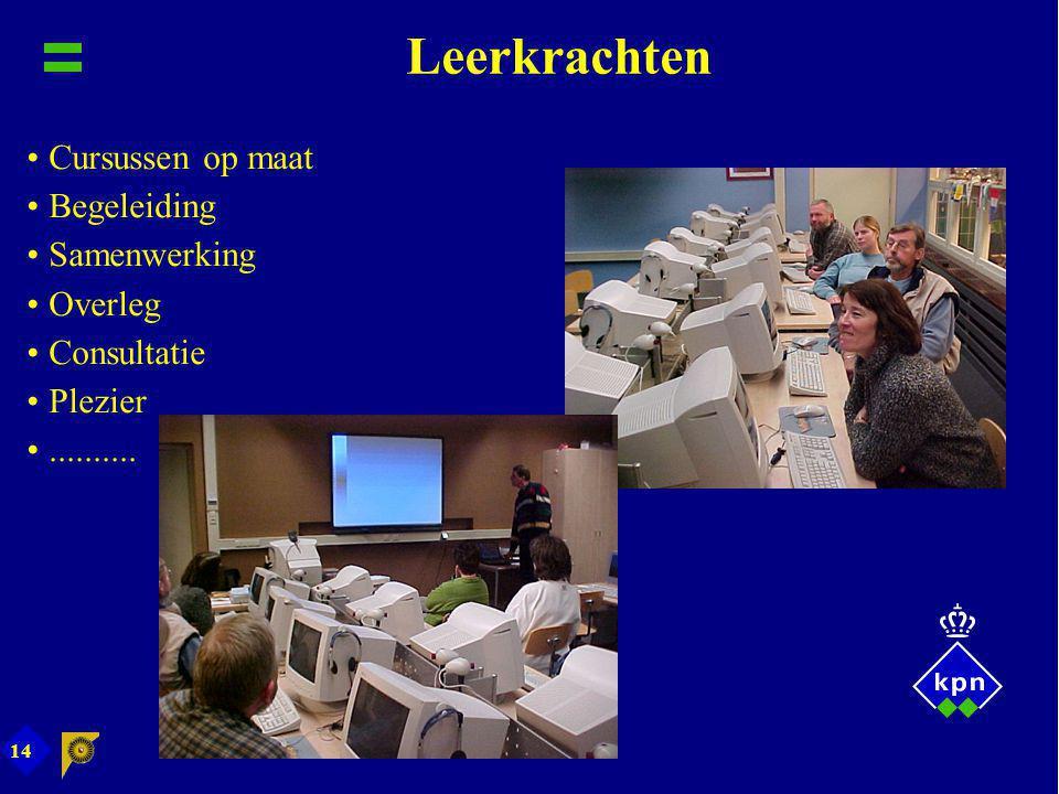 Leerkrachten Cursussen op maat Begeleiding Samenwerking Overleg