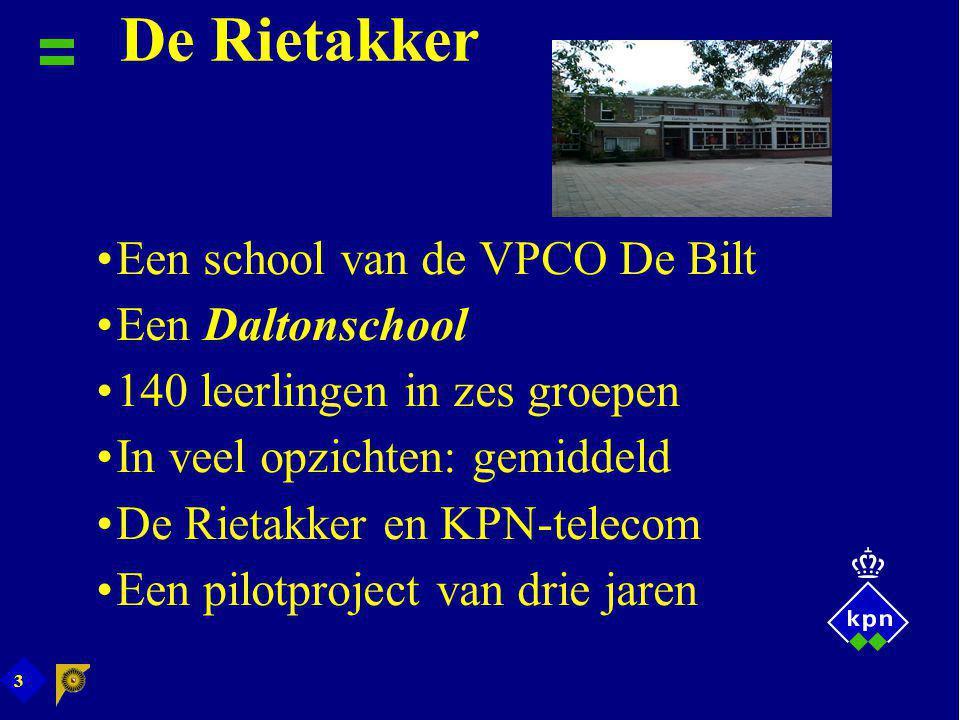 De Rietakker Een school van de VPCO De Bilt Een Daltonschool