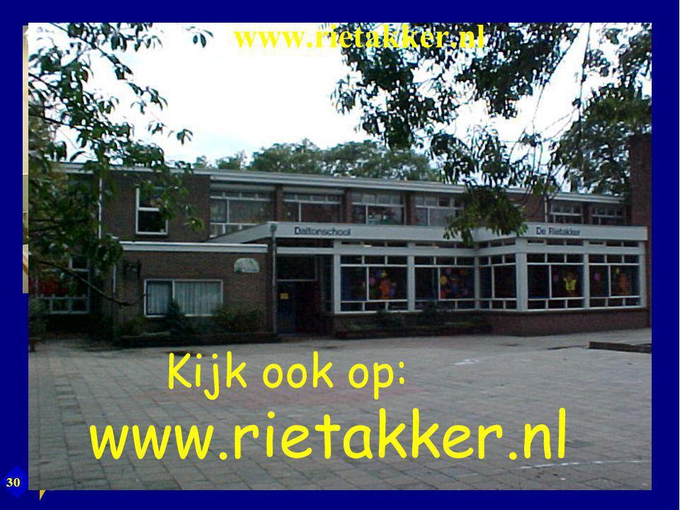 www.rietakker.nl Kijk ook op: www.rietakker.nl