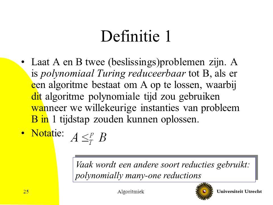 Definitie 1