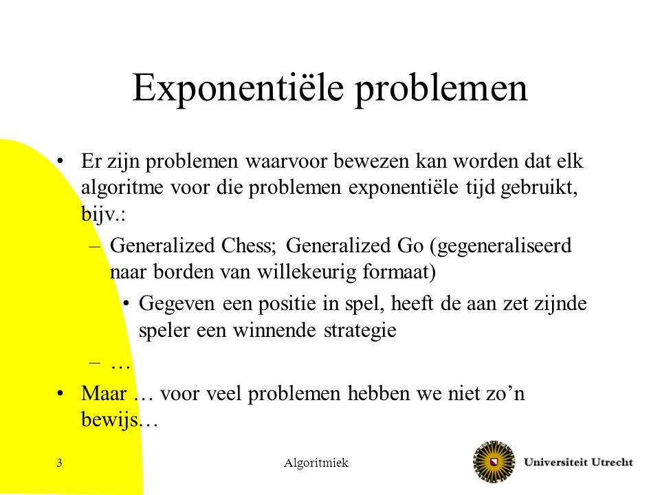 Exponentiële problemen