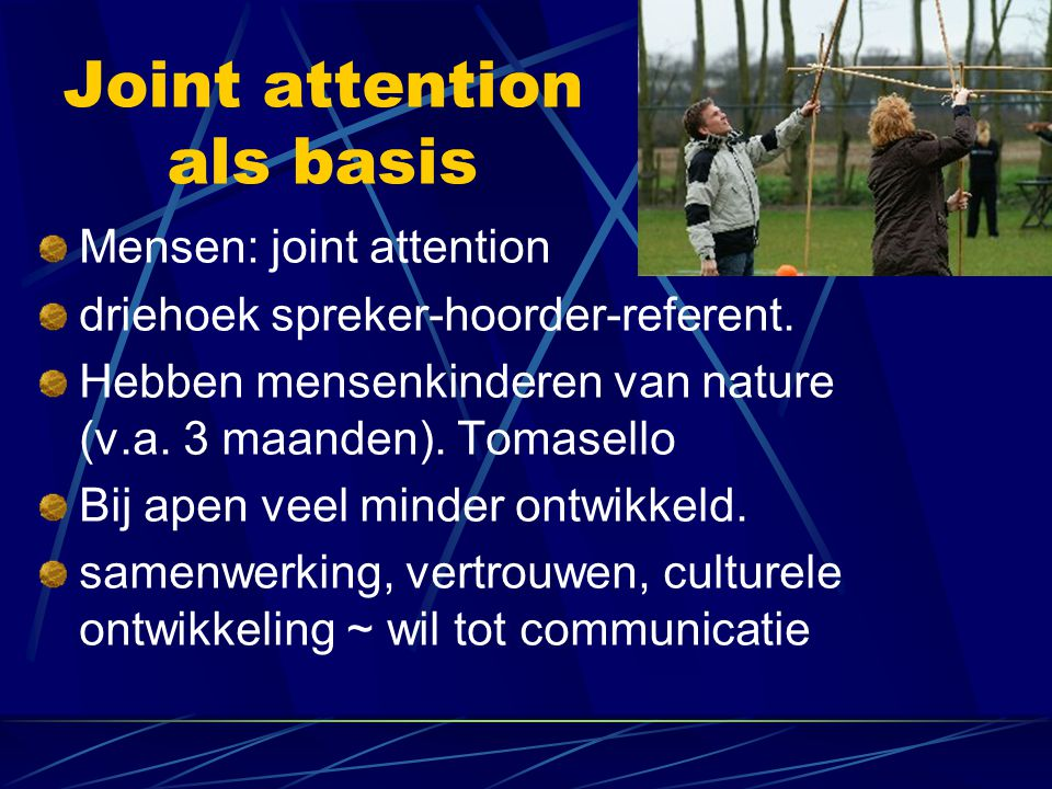 Joint attention als basis