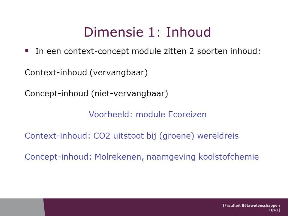 Voorbeeld: module Ecoreizen