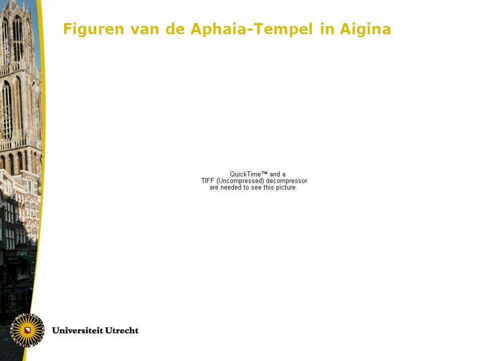 Figuren van de Aphaia-Tempel in Aigina