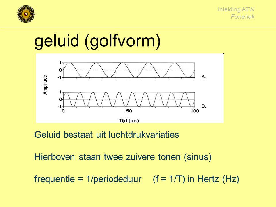 geluid (golfvorm)