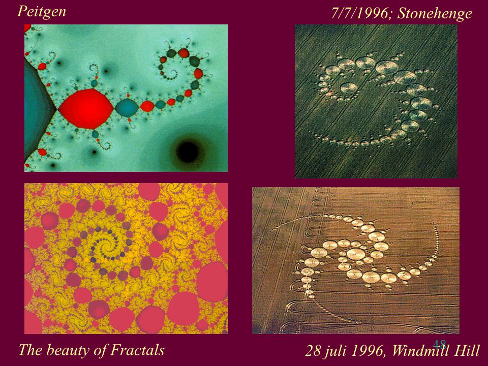 Peitgen 7/7/1996; Stonehenge The beauty of Fractals 28 juli 1996, Windmill Hill