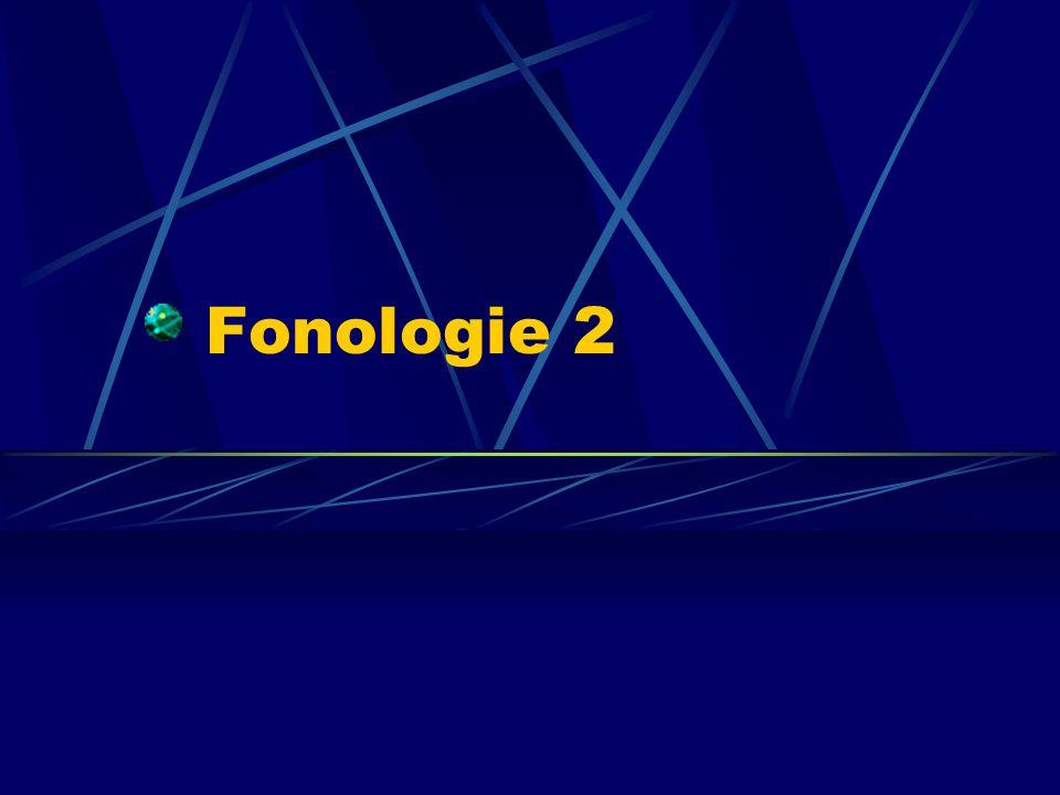 Fonologie 2