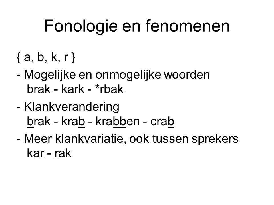 Fonologie en fenomenen