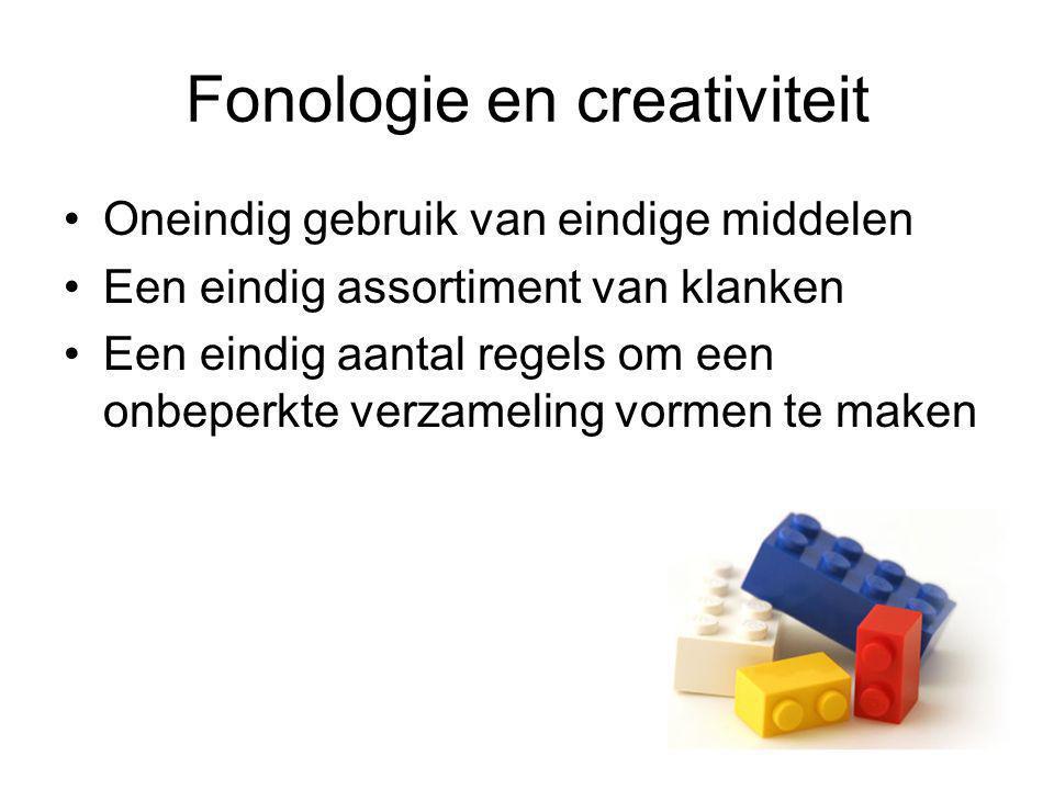 Fonologie en creativiteit