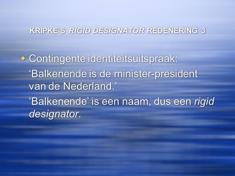 KRIPKE'S RIGID DESIGNATOR REDENERING 3
