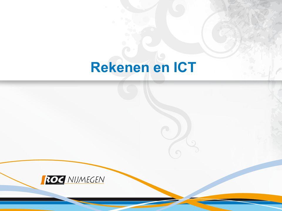 Rekenen en ICT