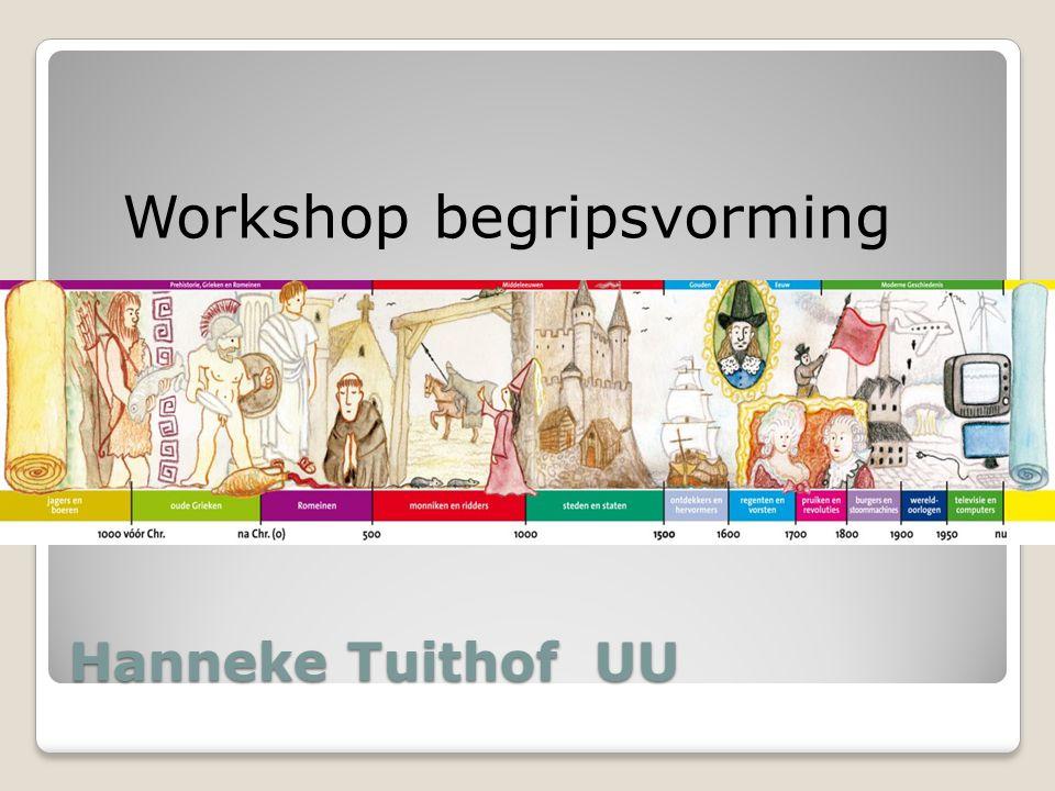 Workshop begripsvorming