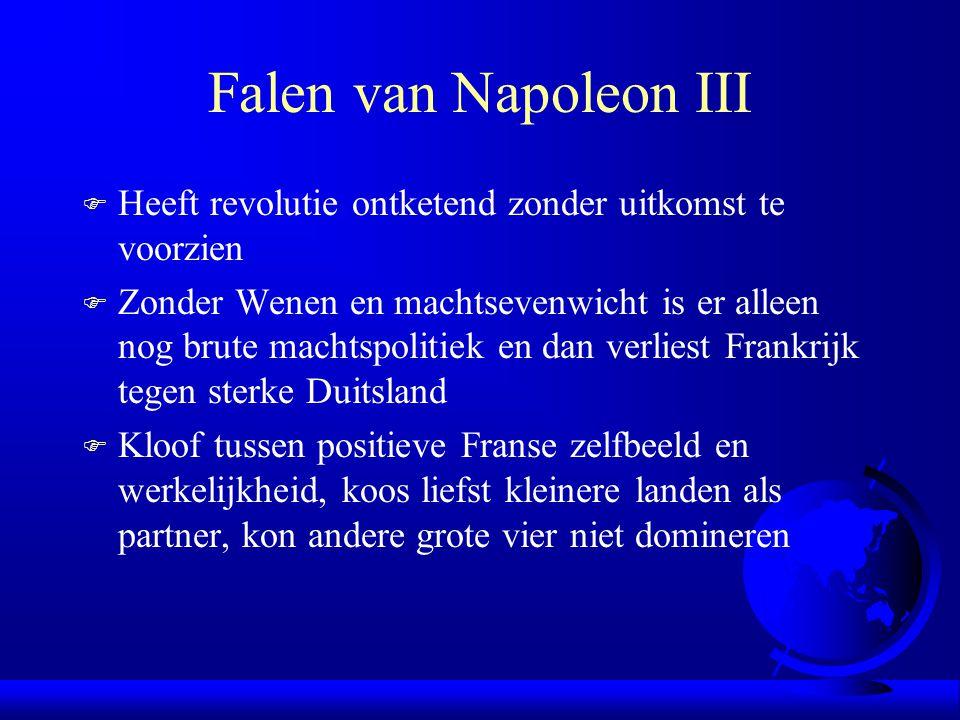 Falen van Napoleon III Heeft revolutie ontketend zonder uitkomst te voorzien.
