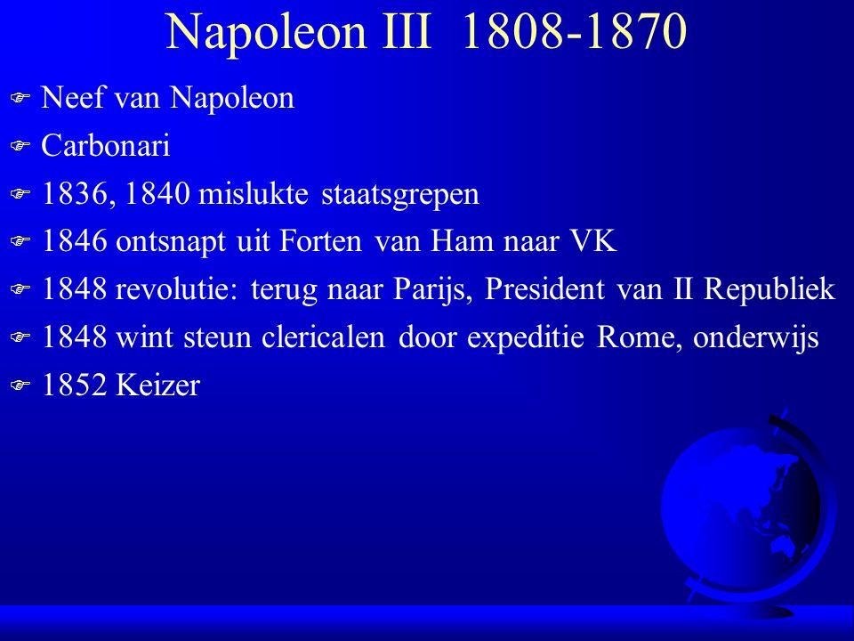 Napoleon III 1808-1870 Neef van Napoleon Carbonari