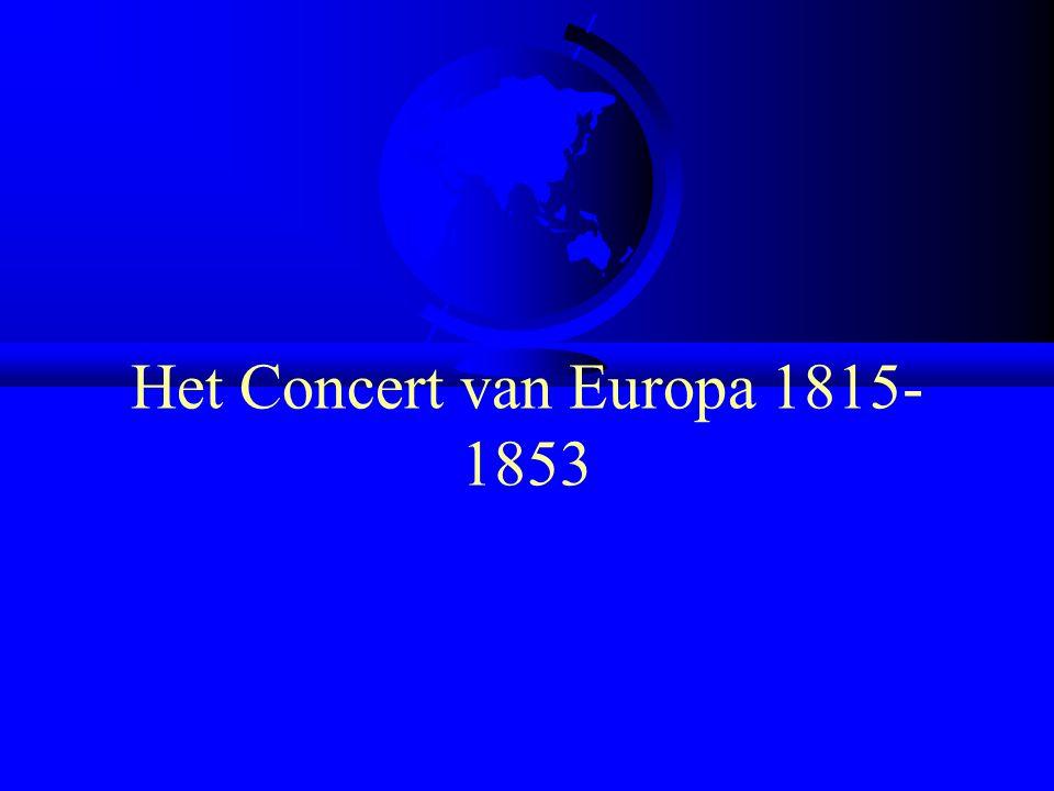 Het Concert van Europa 1815-1853