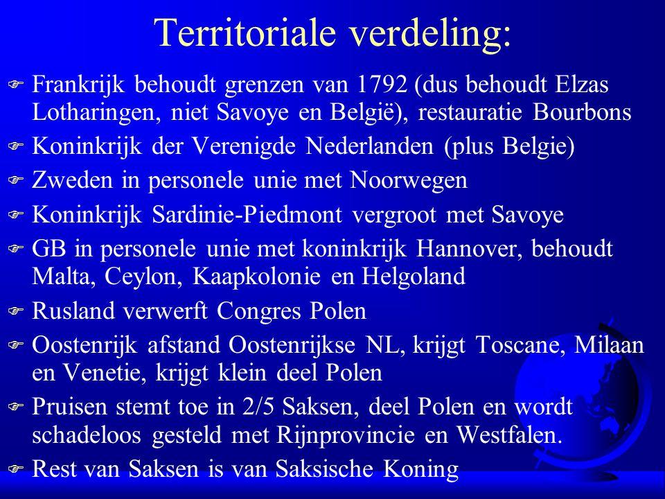 Territoriale verdeling: