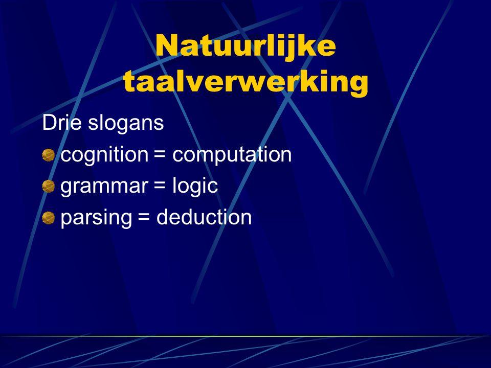 Natuurlijke taalverwerking