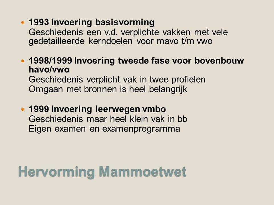 Hervorming Mammoetwet