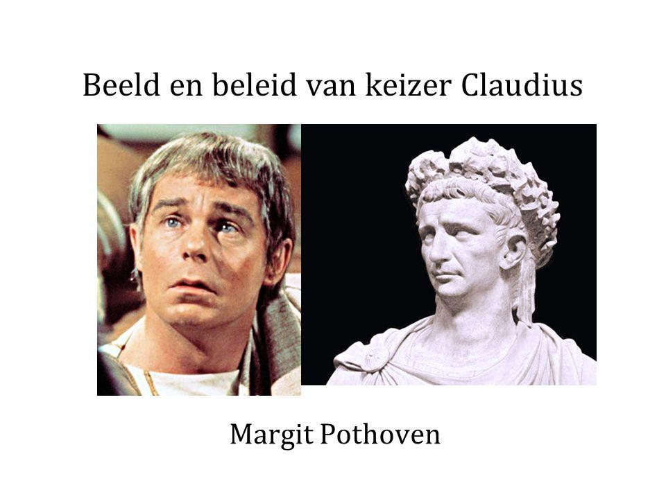 Beeld en beleid van keizer Claudius