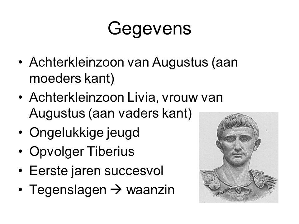 Gegevens Achterkleinzoon van Augustus (aan moeders kant)