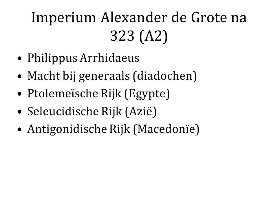 Imperium Alexander de Grote na 323 (A2)