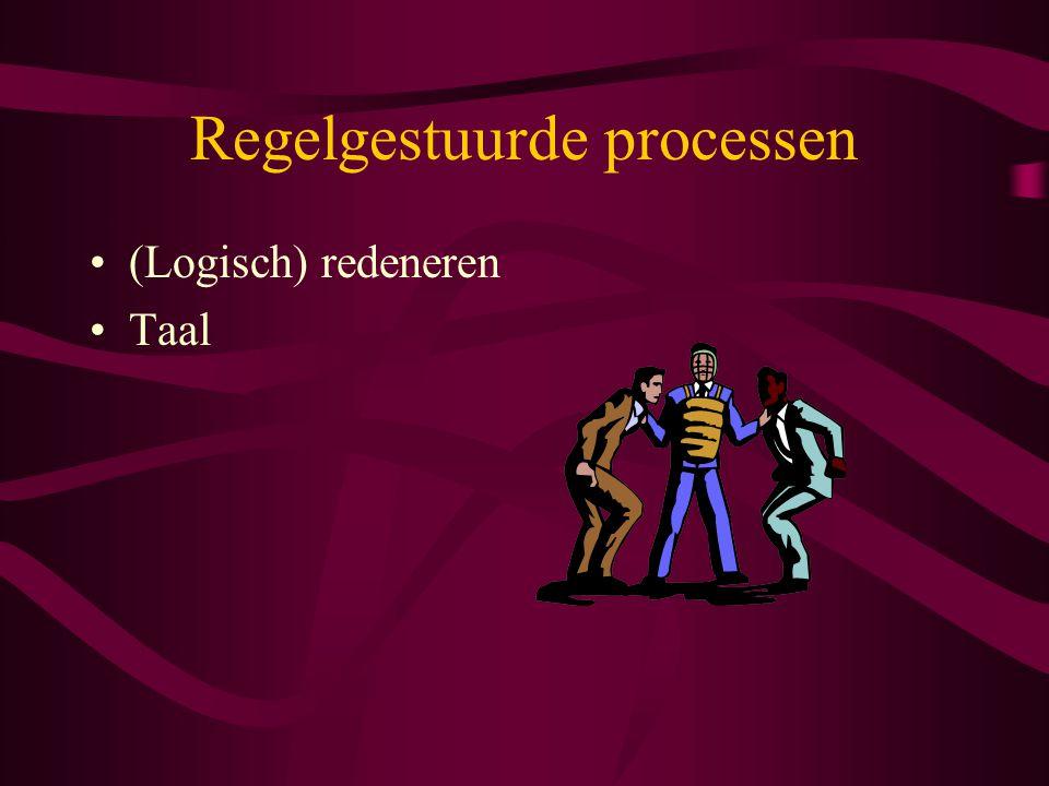 Regelgestuurde processen