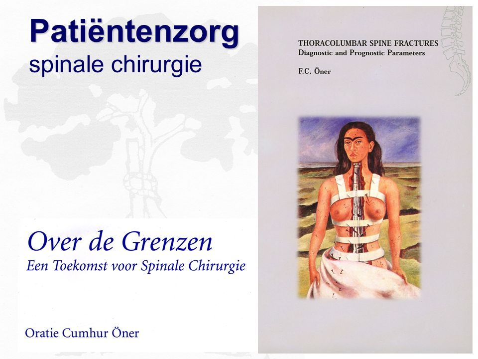 Patiëntenzorg spinale chirurgie
