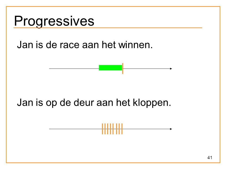 Progressives Jan is de race aan het winnen.