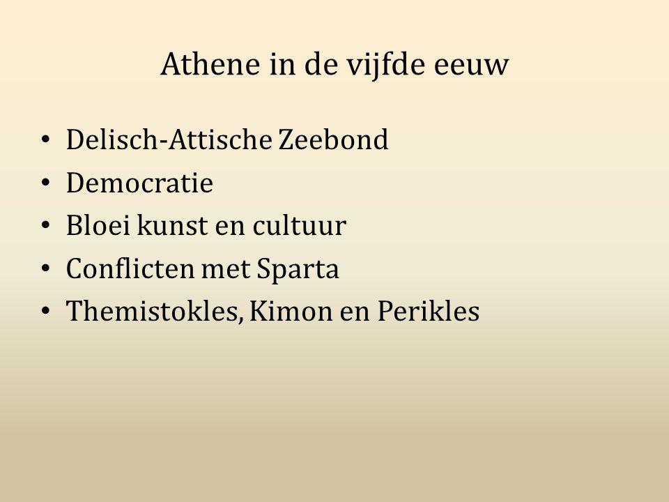Athene in de vijfde eeuw