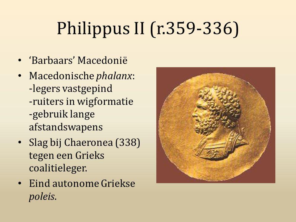 Philippus II (r.359-336) 'Barbaars' Macedonië