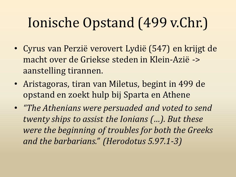 Ionische Opstand (499 v.Chr.)