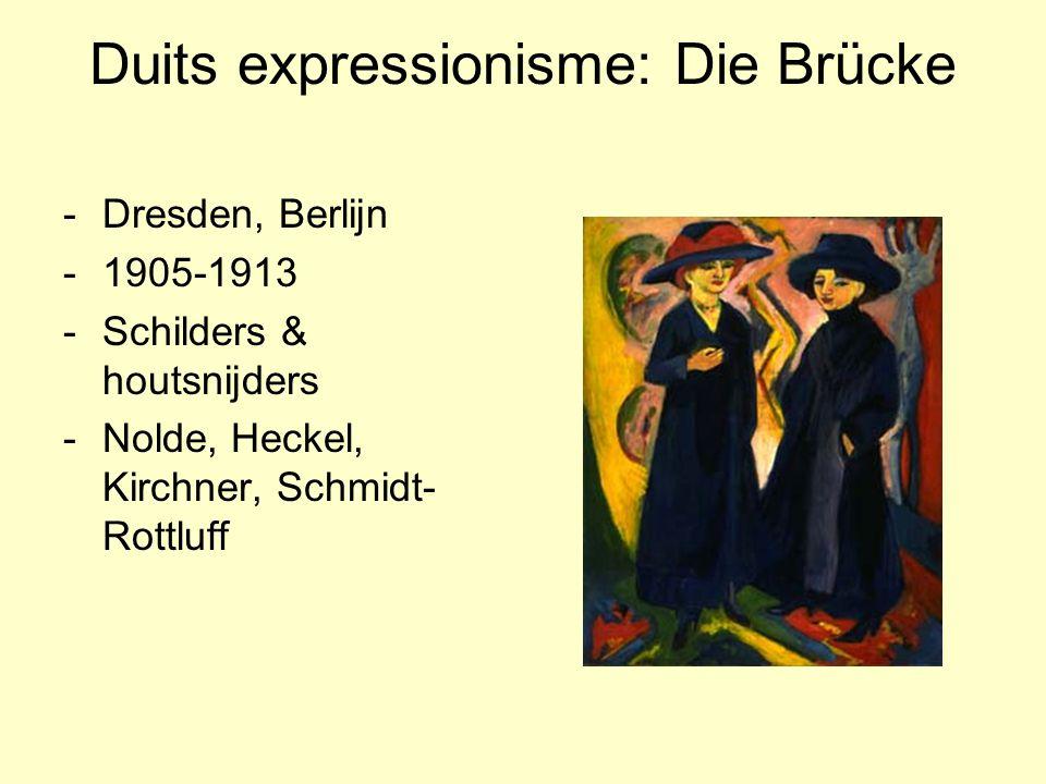 Duits expressionisme: Die Brücke