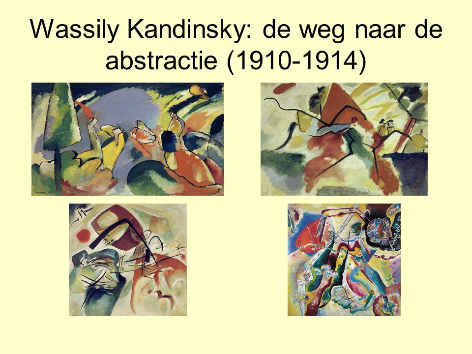 Wassily Kandinsky: de weg naar de abstractie (1910-1914)