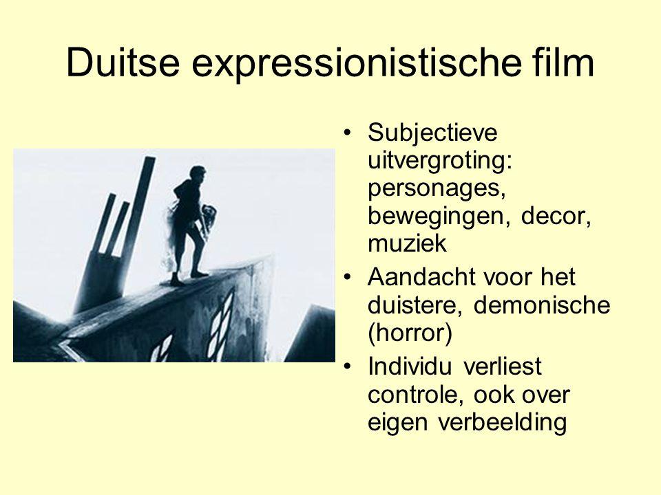 Duitse expressionistische film