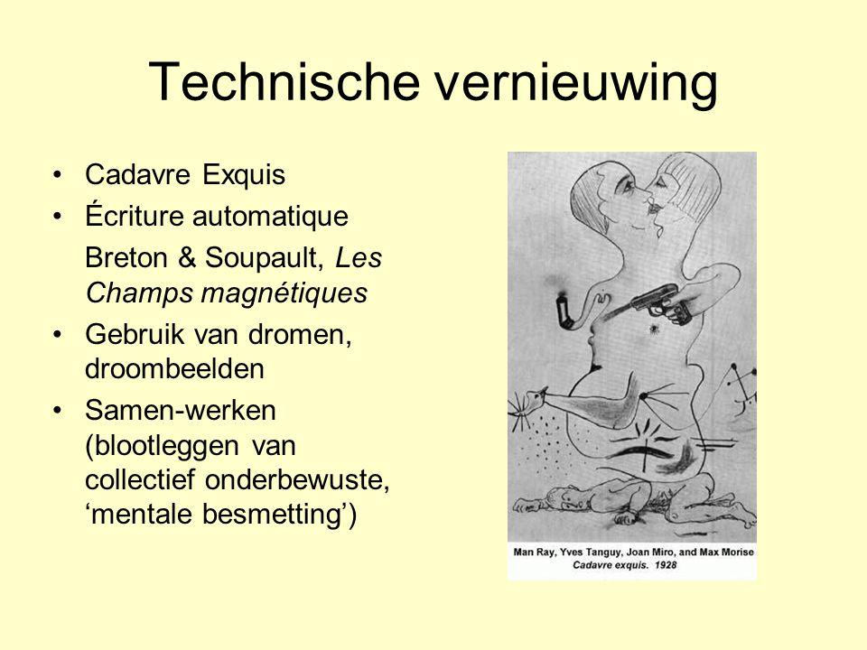 Technische vernieuwing