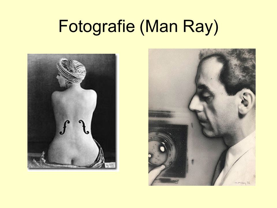 Fotografie (Man Ray)