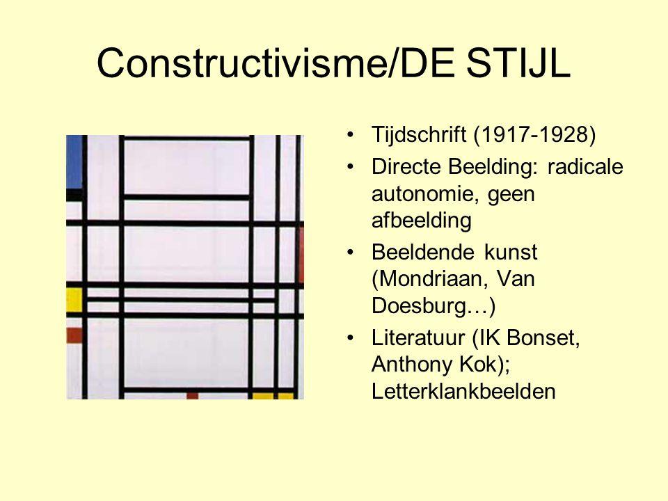 Constructivisme/DE STIJL