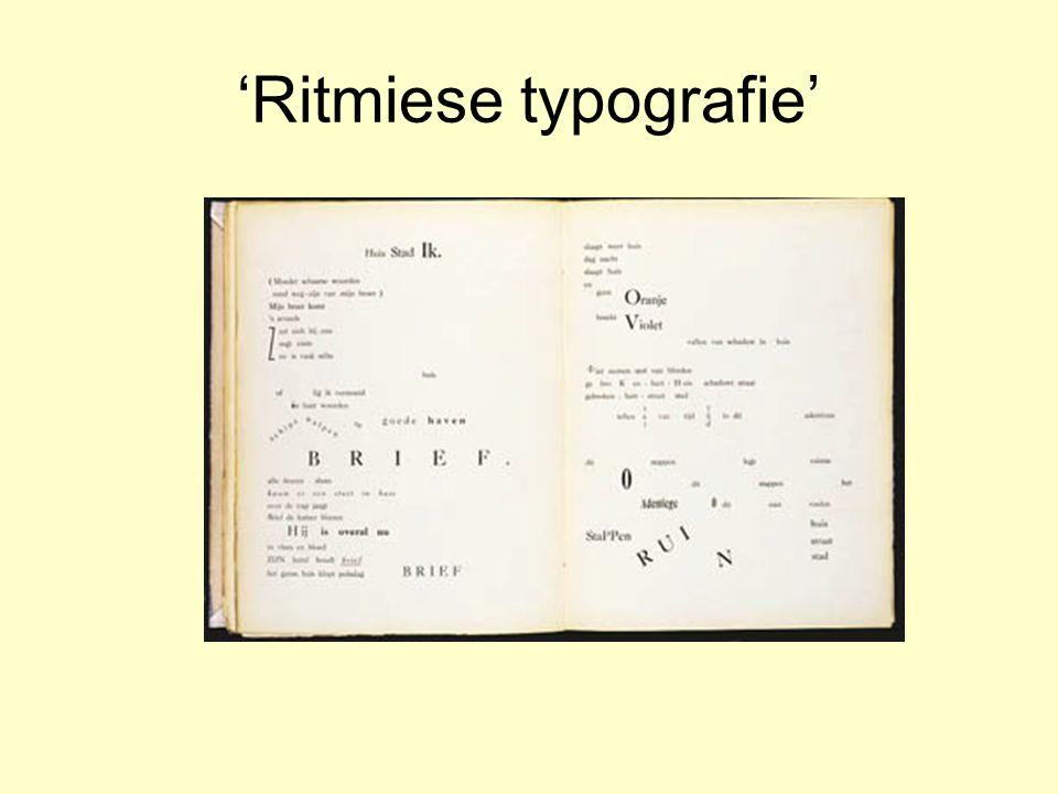 'Ritmiese typografie'