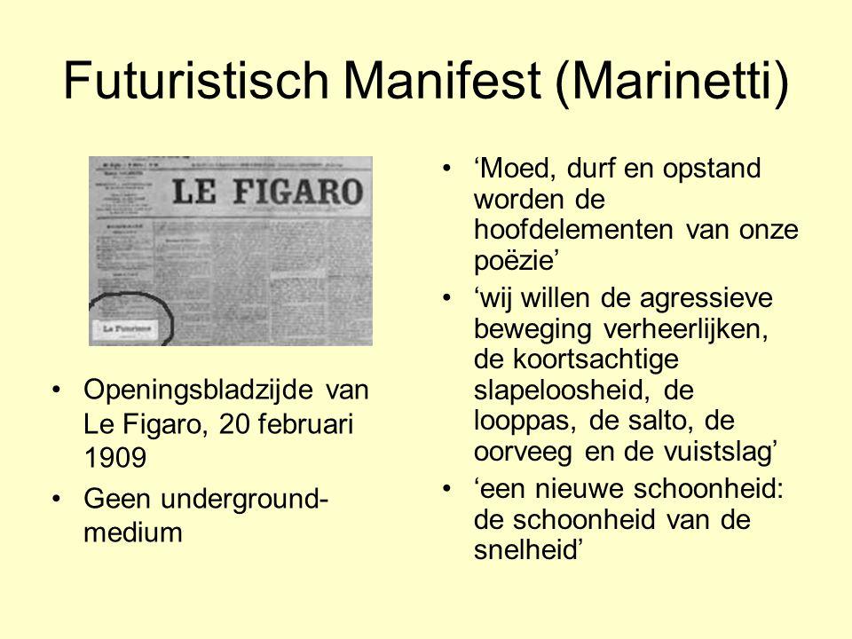 Futuristisch Manifest (Marinetti)